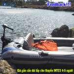 Bộ giá gắn mô-tơ thuyền bơm hơi cần dài 68624CD