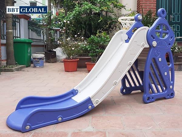 Cầu trượt đơn máng dài 1m7 cho bé BBT GLOBAL BSL308