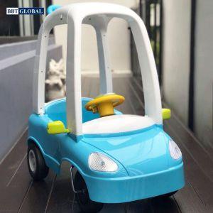 Xe chòi chân kiểu dáng ô tô Hàn Quốc màu xanh HNR255-X