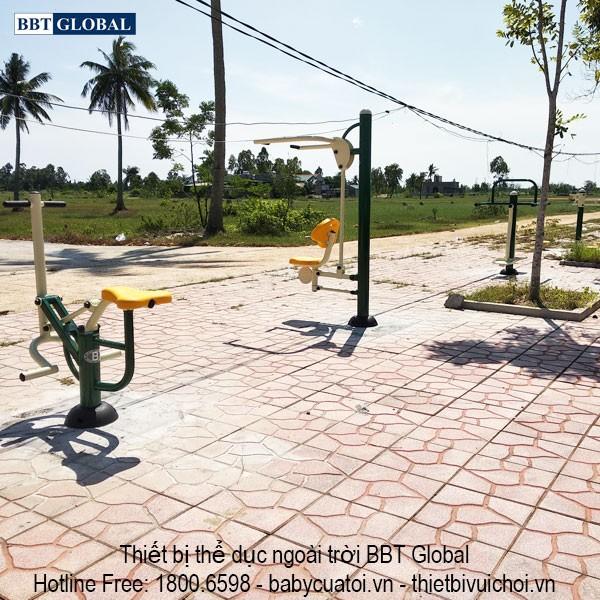 Dự án lắp đặt dụng cụ thể thao ngoài trời tại Quảng Yên, Quảng Ninh
