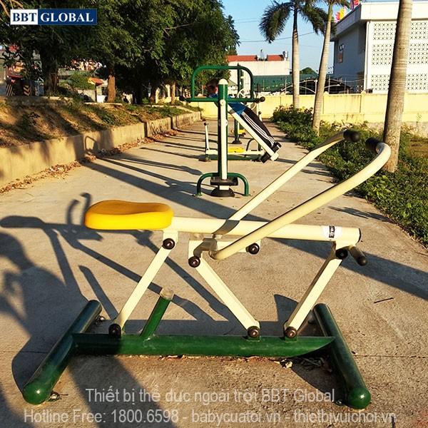 Dự án lắp đặt dụng cụ thể thao ngoài trời tại Quảng Yên, Quảng Ninh | Dụng cụ tập chèo thuyền