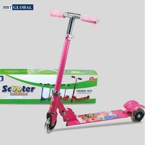 Xe trượt Scooter hình công chúa LKE636-4