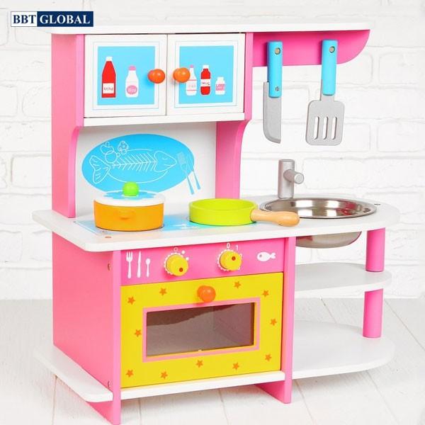 Bộ đồ chơi nấu ăn đa năng bằng gỗ MSN15024