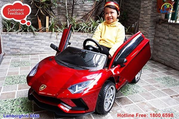 Xe ô tô điện trẻ em Lamborghini Aventador