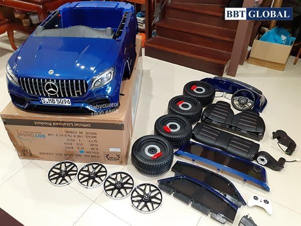 Xe ô tô điện trẻ em Mercedes GLC 63 S
