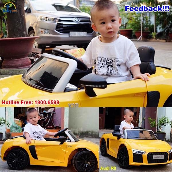 Xe ô tô điện trẻ em Audi R8