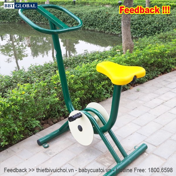 Dự án lắp đặt máy tập thể dục công viên tại Hoài Đức, Hà Nội | Dụng cụ tập đạp xe