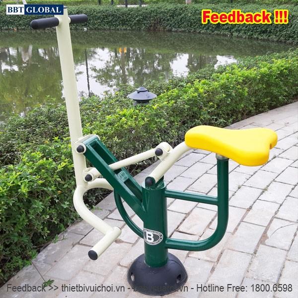 Dự án lắp đặt máy tập thể dục công viên tại Hoài Đức, Hà Nội | Dụng cụ tập đẩy tay chân