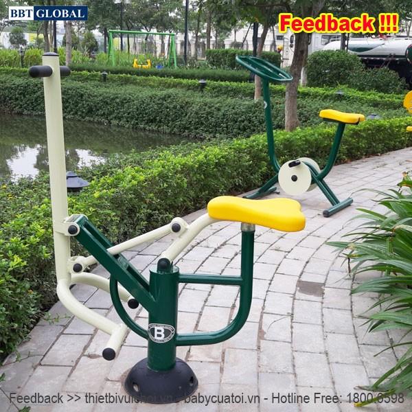 Dự án lắp đặt máy tập thể dục công viên tại Hoài Đức, Hà Nội