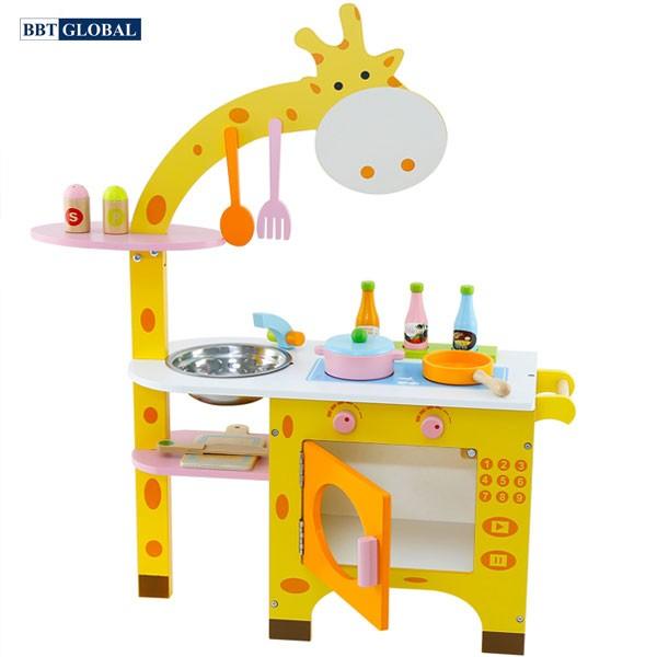 Đồ chơi nấu ăn gỗ chú hươu cao cổ MSN15029
