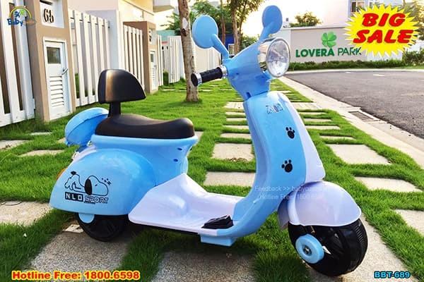 Xe máy điện trẻ em chú chó Puppy BBT-689
