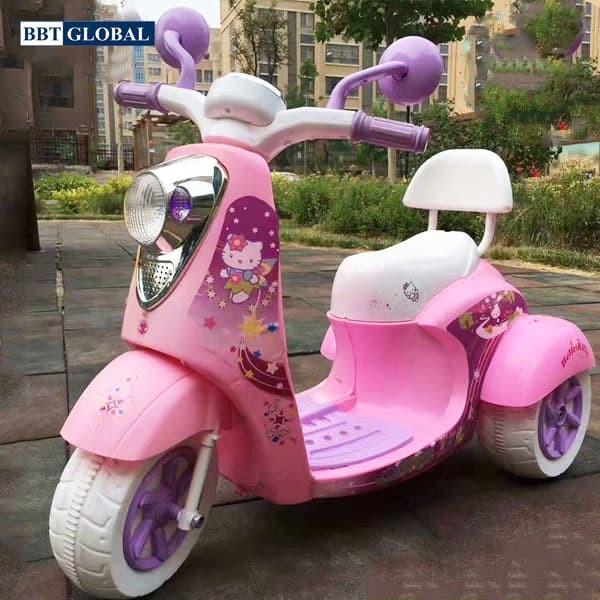 Xe máy điện trẻ em Hello Kitty BBT-600
