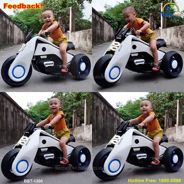 Xe máy điện trẻ em dáng thể thao BBT-1300