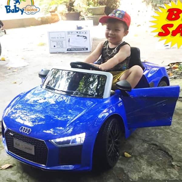 Xe Ô tô điện trẻ em Bản quyền Cao cấp Audi R8