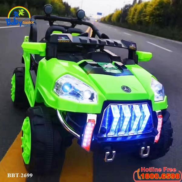 Xe ô tô điện trẻ em địa hình 4 động cơ BBT-2699