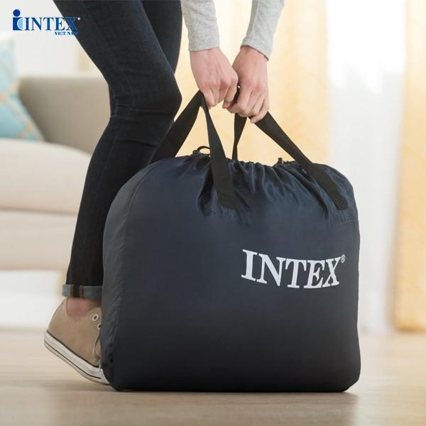 Giường hơi đôi tự phồng công nghệ mới INTEX 64428