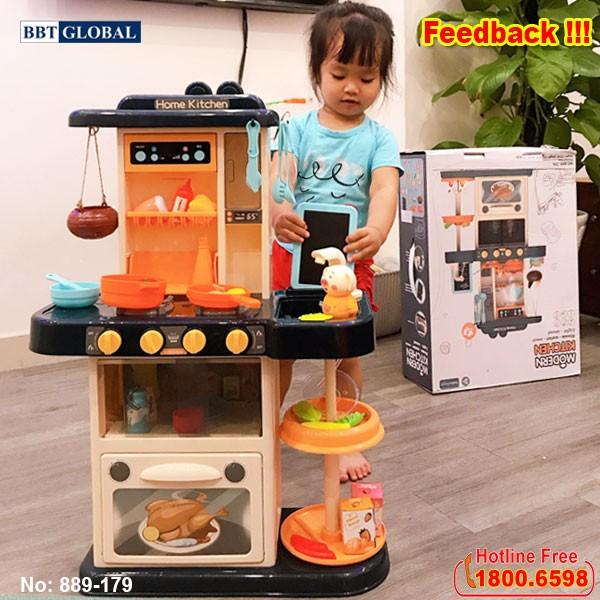 Đồ chơi nấu ăn cho bé nhiều chức năng cỡ lớn 889-179