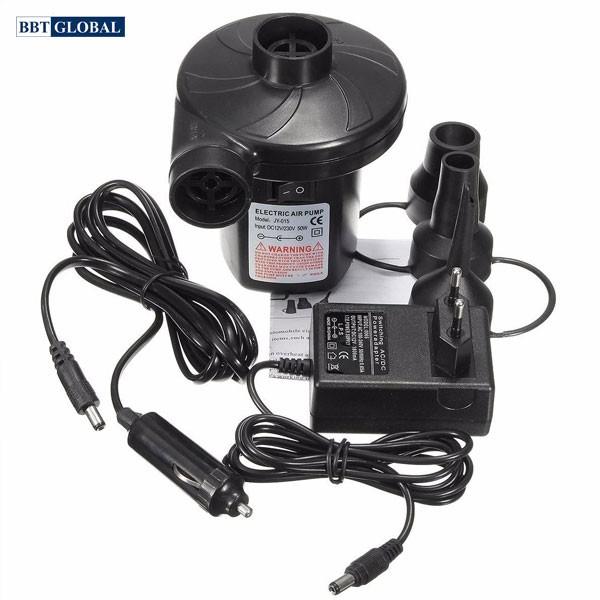 Bơm điện hút xả 2 chiều 2 nguồn điện 12V và 220V mã JY-015