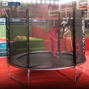 Bạt nhún Trampoline có bảo vệ đường kính 306cm KT212-306