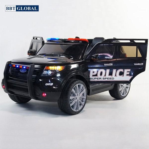 Xe ô tô điện trẻ em cảnh sát US911C