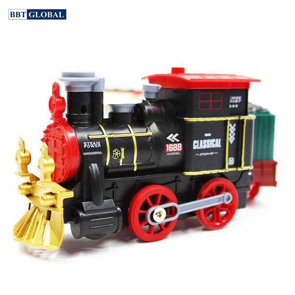 Đồ chơi mô hình đoàn tàu có đèn và nhạc 2055-3