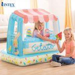 Nhà chơi bơm hơi tiệm bán kem đa năng INTEX 48672