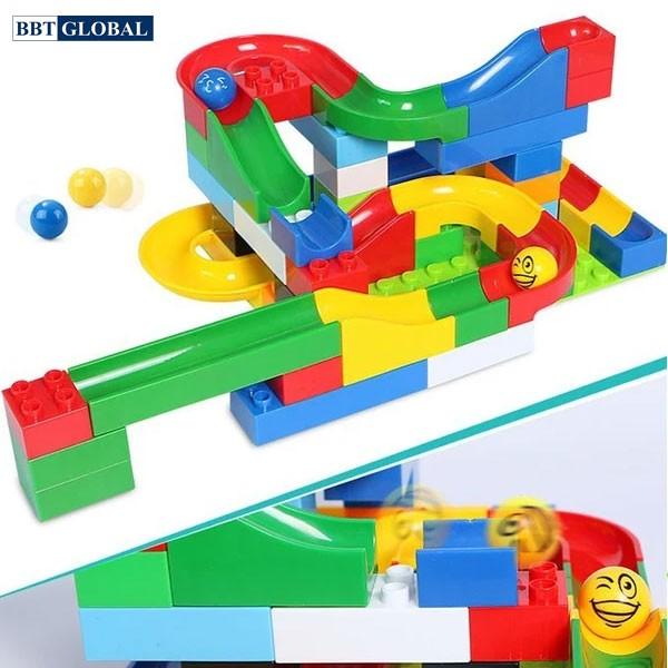 Bộ đồ chơi xếp hình thả bóng thông minh 48 chi tiết 68078