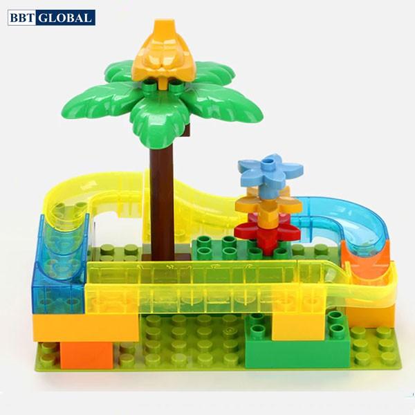 Đồ chơi xếp hình vườn bách thú thả bóng thông minh cho bé 8803C