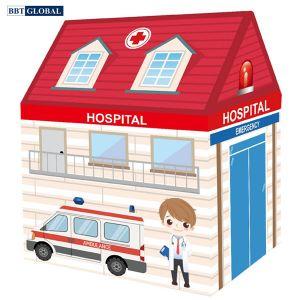 Lều bóng cho bé hình bệnh viện 889-216A