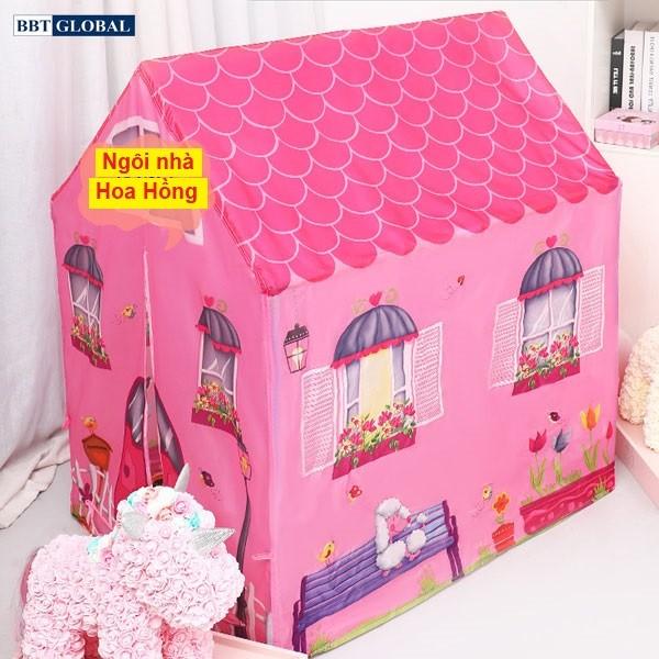 Nhà bóng trẻ em ngôi nhà ước mơ 995-7070B