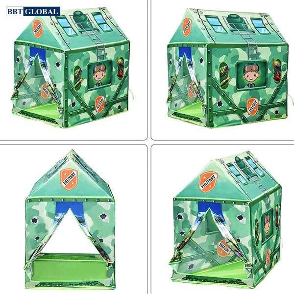 Nhà bóng lều quân đội cho bé 995-7070C