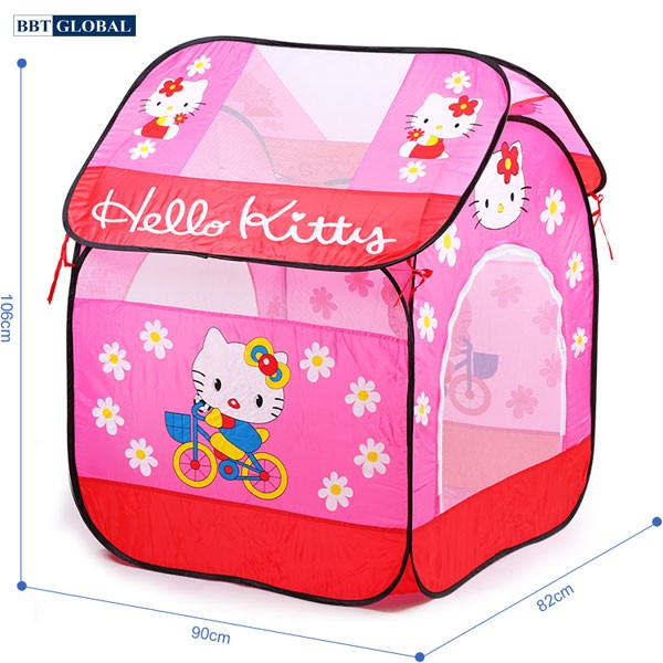 Nhà bóng cho bé Hello Kitty màu đỏ A999-212