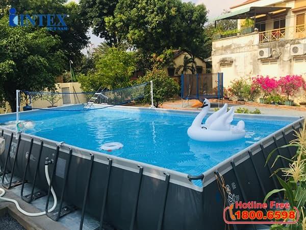 Bể bơi intex | Hồ bơi khung kim loại
