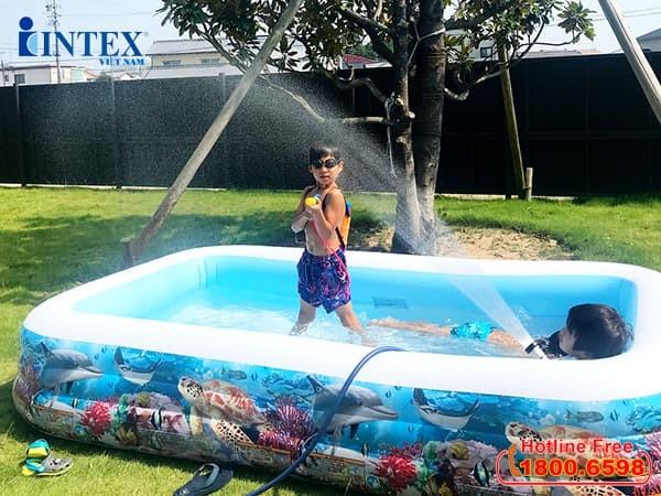 Bể bơi intex | Bể bơi phao cho bé