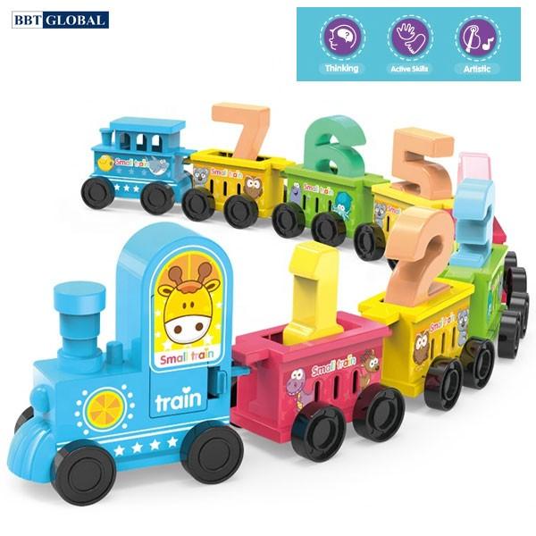 Đồ chơi mô hình đoàn tàu kèm bộ số BY-5001
