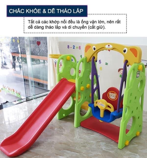 Cầu trượt xích đu Hàn Quốc CHD101