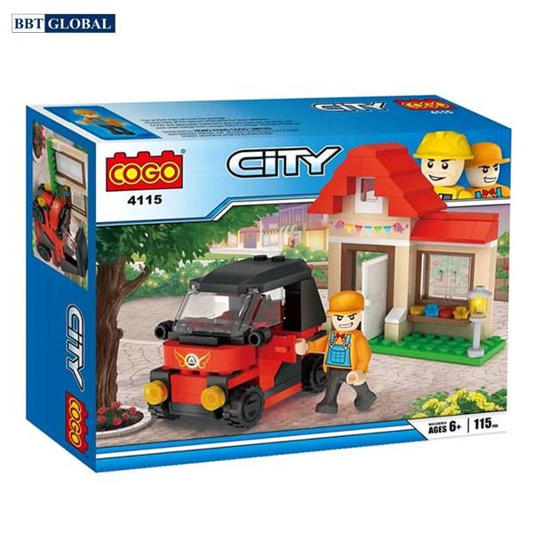 Bộ đồ chơi xếp hình cao cấp kỹ sư công trình CGBX4115
