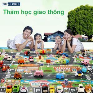 Thảm chơi thông minh học giao thông DD308A