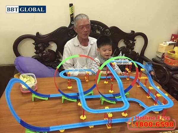 Đồ chơi mô hình đường ray tàu hỏa A333-203