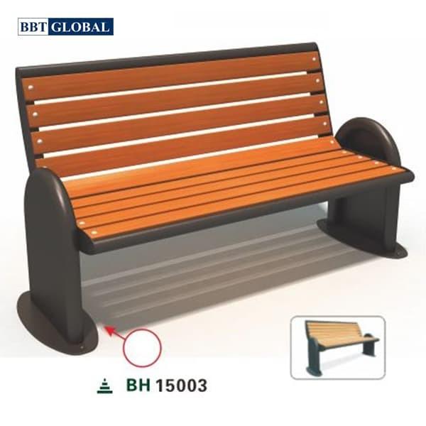 Ghế ngồi công viên nhập khẩu BH15003