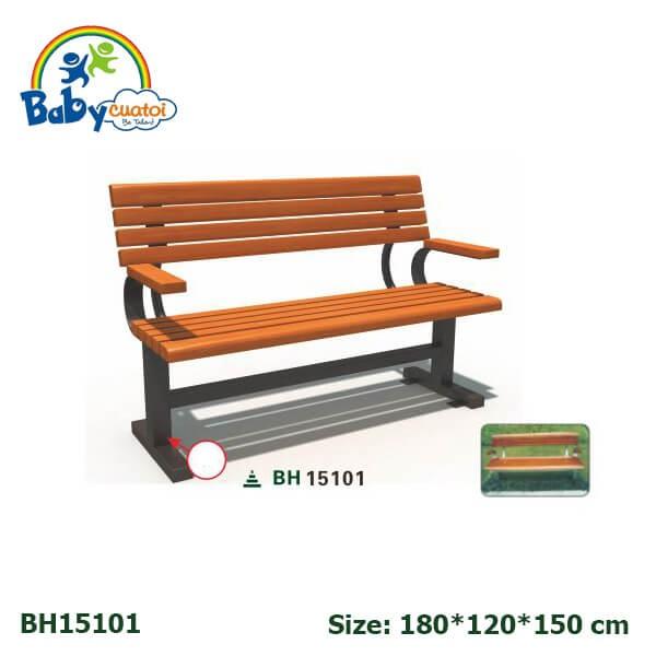 Ghế ngồi công viên nhập khẩu BH15101