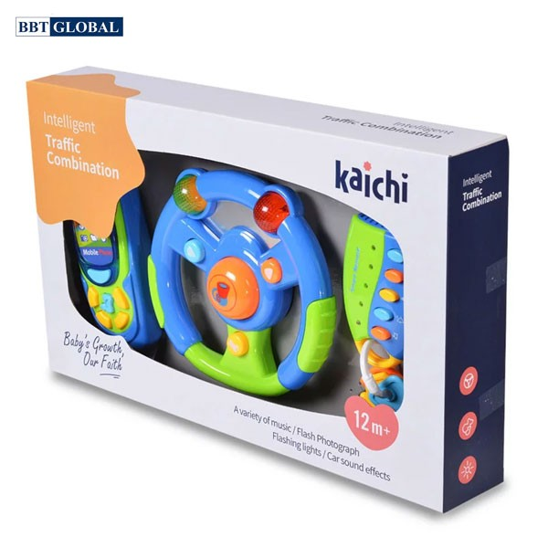 Đồ chơi vô lăng có đèn và nhạc cho bé K999-81B