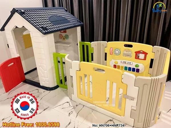 Nhà nhựa cho bé Hàn Quốc HN706