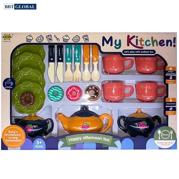 Đồ chơi nấu ăn cho bé nhiều chi tiết RM8201B-1