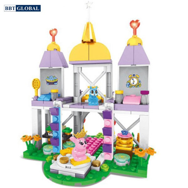 Đồ chơi xếp hình cung điện Elsa SW803