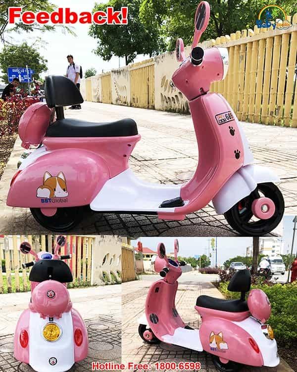 Xe máy điện trẻ em Puppy BBT-689