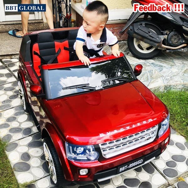 Xe ô tô điện trẻ em Land Rover BBT-8989
