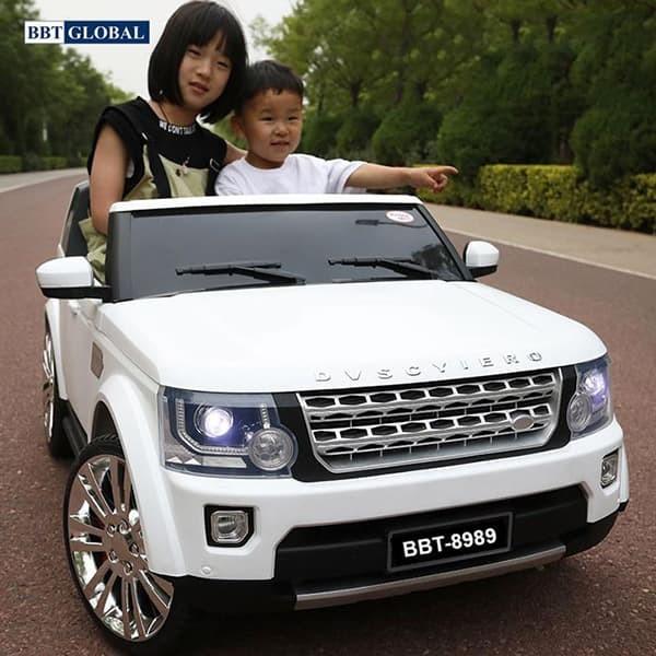 Ô tô điện trẻ em kiểu dáng Land Rover siêu Hot BBT-8989