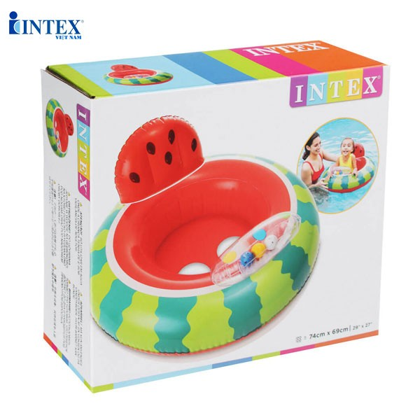 Phao bơi dưa hấu xỏ chân cho bé INTEX 56592