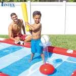 Sân chơi đa năng bơm hơi cho bé INTEX 57147